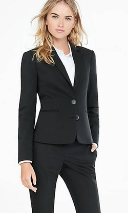Ultimate Double Weave Jacket by Express in New Girl