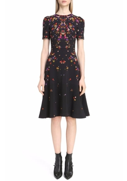 Pansy Print Stretch Cady Dress by Givenchy in Will & Grace
