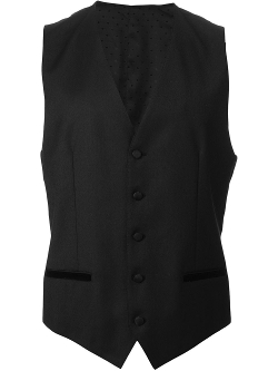Waistcoat Suit Vest by Dolce & Gabbana in A Most Violent Year
