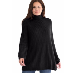 Turtleneck Sweater by Woman Within in The Boss