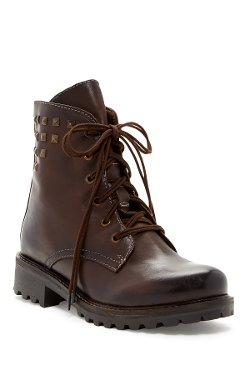 Valentina Lace-Up Boots by Manas in Begin Again