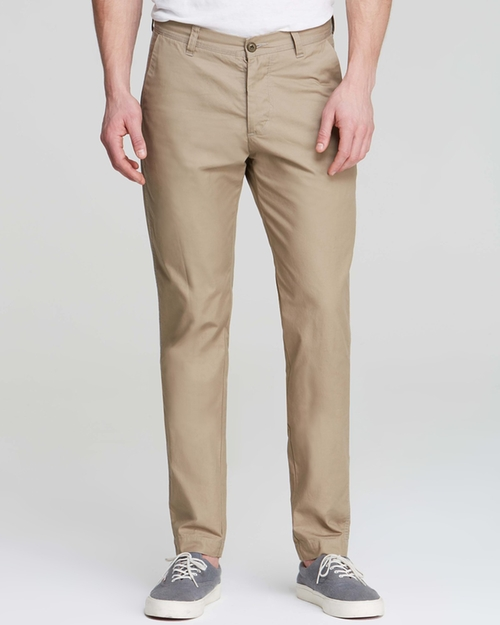 Sulphur Dyed Twill Tokyo Chino Pants by Wings + Horns in Vacation