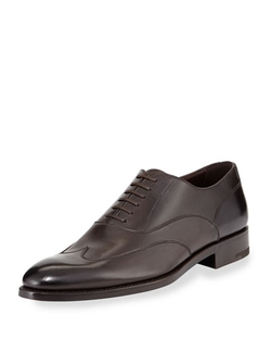Leather Oxford Shoes by Ermenegildo Zegna in Steve Jobs