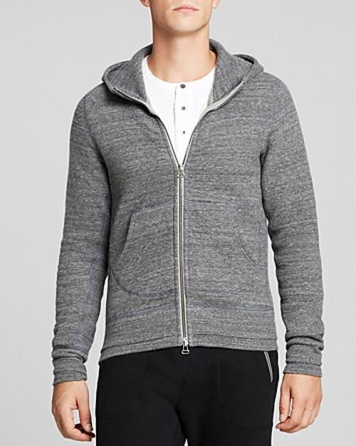 Cabin Fleece Zip Hoodie by Wings + Horns in The Other Woman