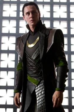 Custom Made 'Loki' Costume by Alexandra Byrne (Costume Designer) in Thor