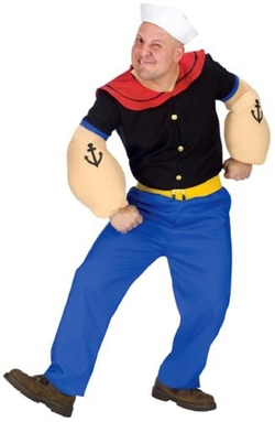 Popeye Costume by Fas Cosplay in Brooklyn Nine-Nine