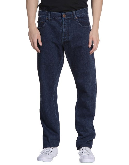 Straight Leg Denim Pants by Alexander Mcqueen in Run All Night