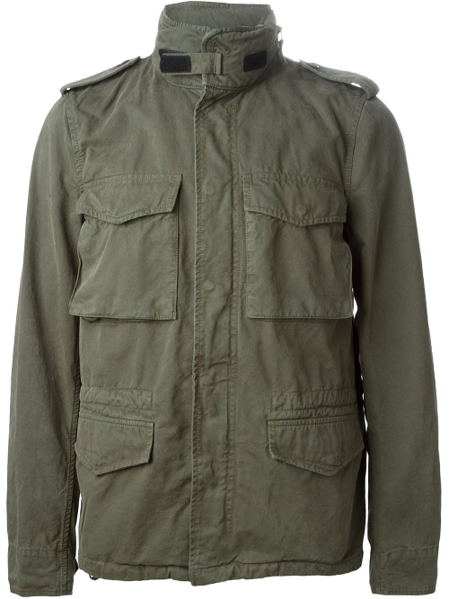 Chest Pocket Military Jacket by Aspesi in The D Train