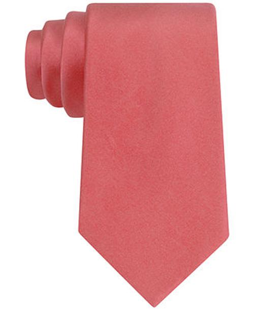 Wedding Satin Solid Tie by Tommy Hilfiger in Mortdecai