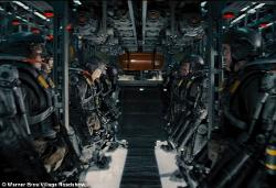 Custom Made Power Armor Suit (Soldier) by Kate Hawley (Costume Designer) in Edge of Tomorrow