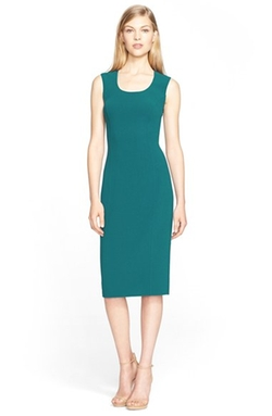 Sleeveless Stretch Wool Crepe Dress by Michael Kors in How To Get Away With Murder