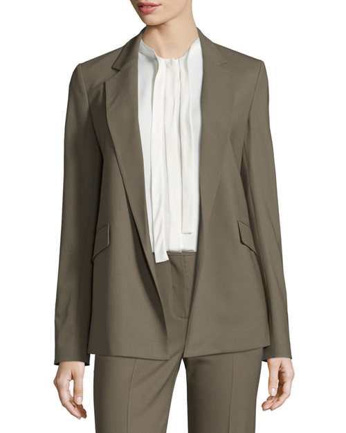Sedeia Contour Open-Front Blazer by Theory in Quantico - Season 2 Episode 1
