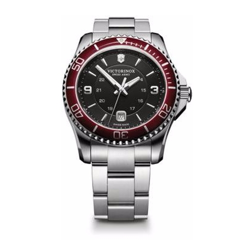 Maverick Stainless Steel Watch by Victorinox Swiss Army in Empire
