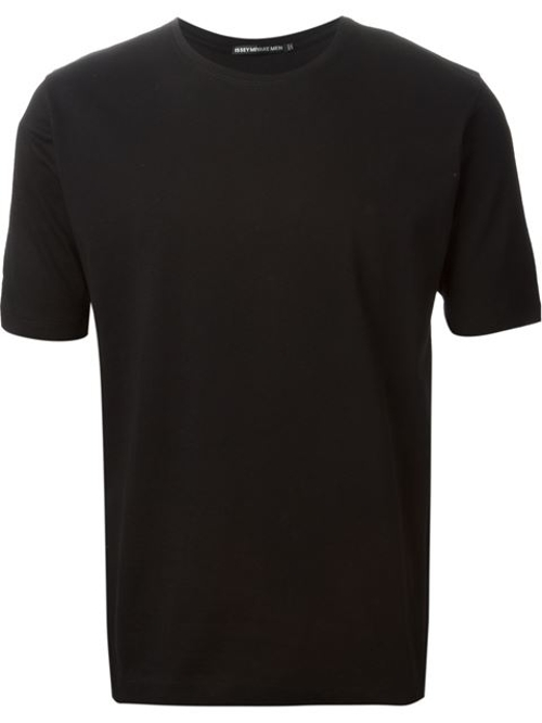 Crew Neck T-Shirt by Issey Miyake Men in Southpaw