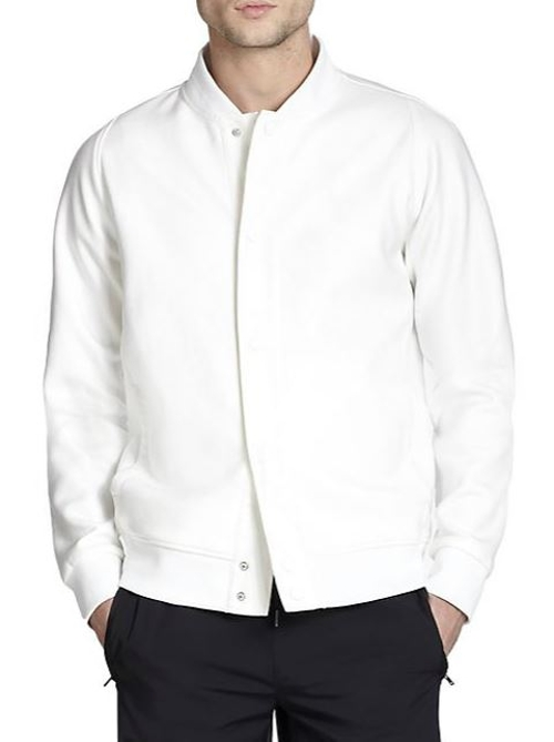 Coated Bomber Jacket by Theory in Self/Less