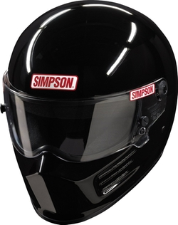 Bandit Black Helmet by Simpson Racing in Point Break