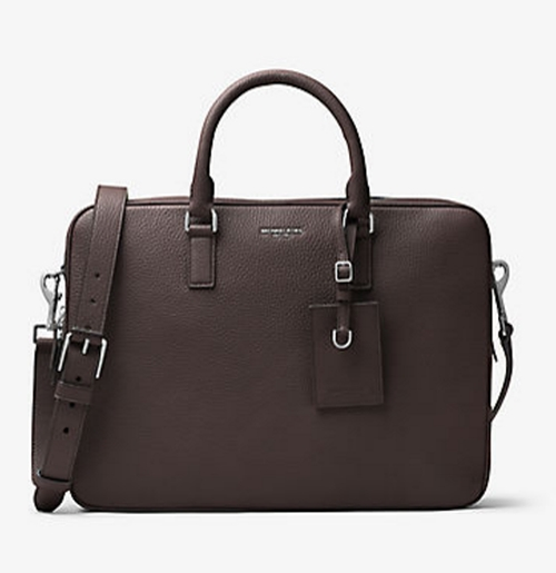 Bryant Large Leather Briefcase by Michael Kors Mens in Fantastic Beasts and Where to Find Them
