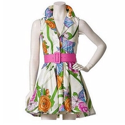 Garden Party Dress by Alice + Olivia in Gossip Girl