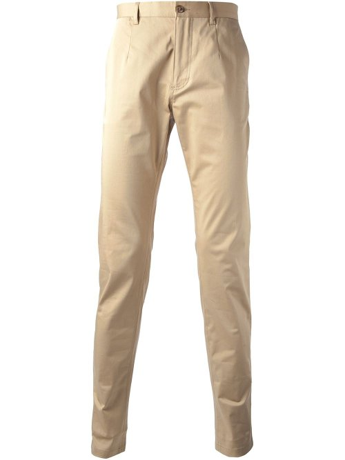 Skinny Chino Pants by Dolce & Gabbana in Get Hard