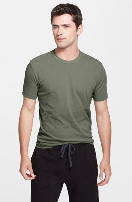 Crewneck Jersey T-Shirt by James Perse in Max