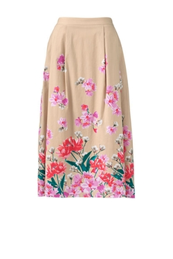 Women's Full Midi Skirt by Land's End in Special Correspondents