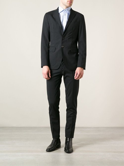 Classic Two Piece Suit by Dsquared2 in Black or White