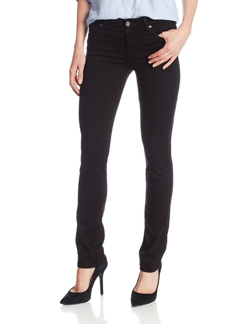 Women's Kimmie Straight Jean by 7 For All Mankind in The Overnight