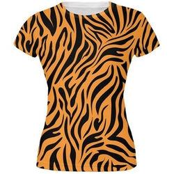 Zebra Print  T-Shirt by Animal World in The Good Wife