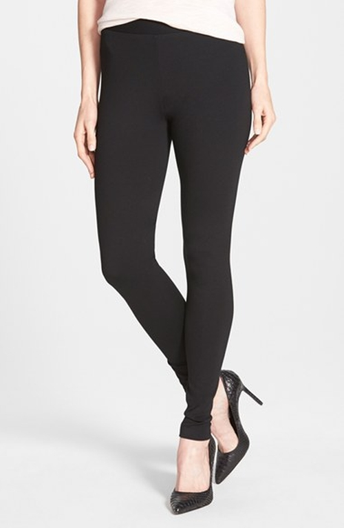 Seamed Back Legging Pants by Two By Vince Camuto in Pretty Little Liars - Season 6 Episode 2