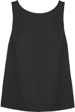Bow-Embellished Cotton-Blend Poplin Top by REDValentino in That Awkward Moment