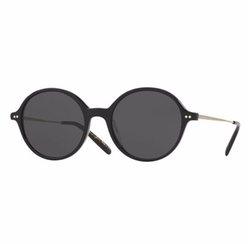 Corby Round Monochromatic Sunglasses by Oliver Peoples in The Fate of the Furious