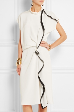 Ruffled Silk-Crepe Midi Dress by 3.1 Phillip Lim in Nashville