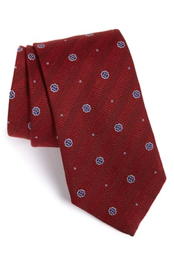 Medallion Silk Tie by David Donahue in Modern Family