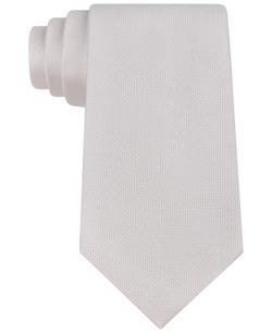 Spun Solid Slim Tie by Calvin Klein in Chi-Raq