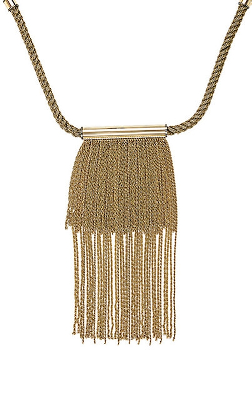 Fringe Necklace by Lanvin in Keeping Up With The Kardashians - Season 11 Episode 13