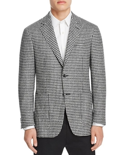 Kei Check Classic Fit Sport Coat by Canali in The Good Place