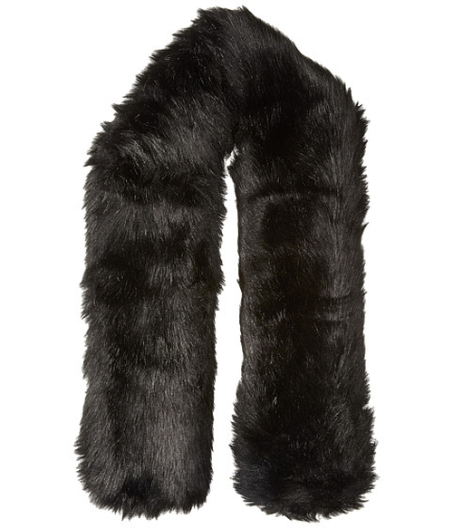 Faux Fur Long Collar Scarf by Hat Attack in Now You See Me 2