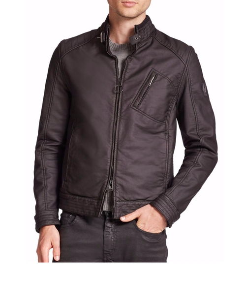 H Racer Cardigan Jacket by Belstaff in The Bourne Legacy