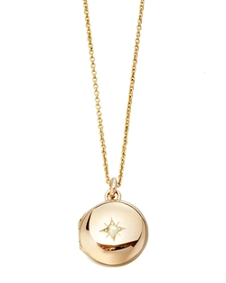 Little Astley Locket Necklace by Astley Clarke in Vacation