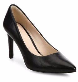 Amelia Grand Leather Point-Toe Pumps by Cole Haan in Suits