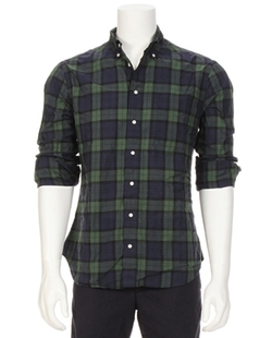 Plaid Button Down Shirt by Gitman Brothers Vintage in Steve Jobs