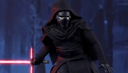 Custom Made Kylo Ren Costume by Michael Kaplan (Costume Designer) in Star Wars: The Last Jedi