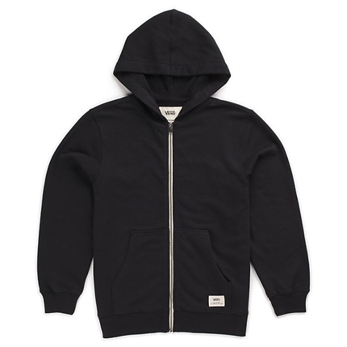 Boys Core Basic Zip Hoodie by Vans in Before I Wake