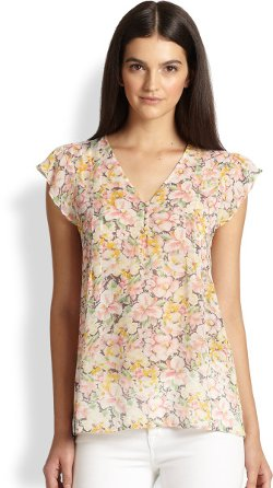 Macy B Blouse by Joie in The Best of Me