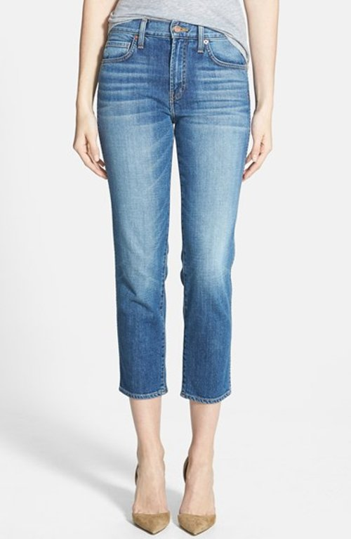 Straight Leg Crop Jeans by Genetic in Begin Again