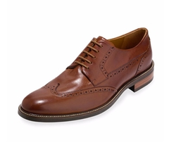 Warren Leather Wing-Tip Oxford Shoes by Cole Haan in Live By Night