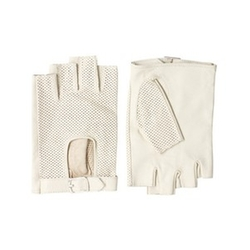 Leather Fingerless Drivers Gloves by Asos in Scream Queens
