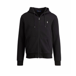 Double-Knit Full-Zip Hoodie by Ralph Lauren in Animal Kingdom