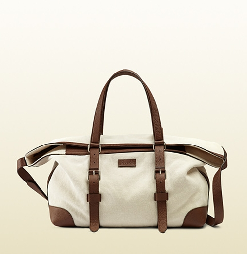 Canvas Duffle Bag by Gucci in The American