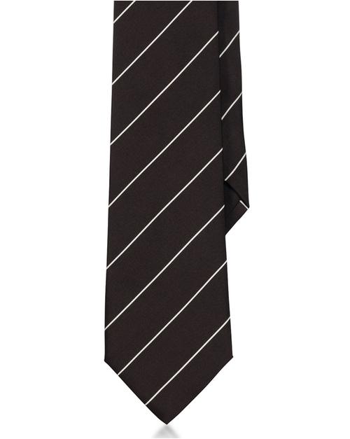 Striped Peau De  Soie Tie by Ralph Lauren in Life